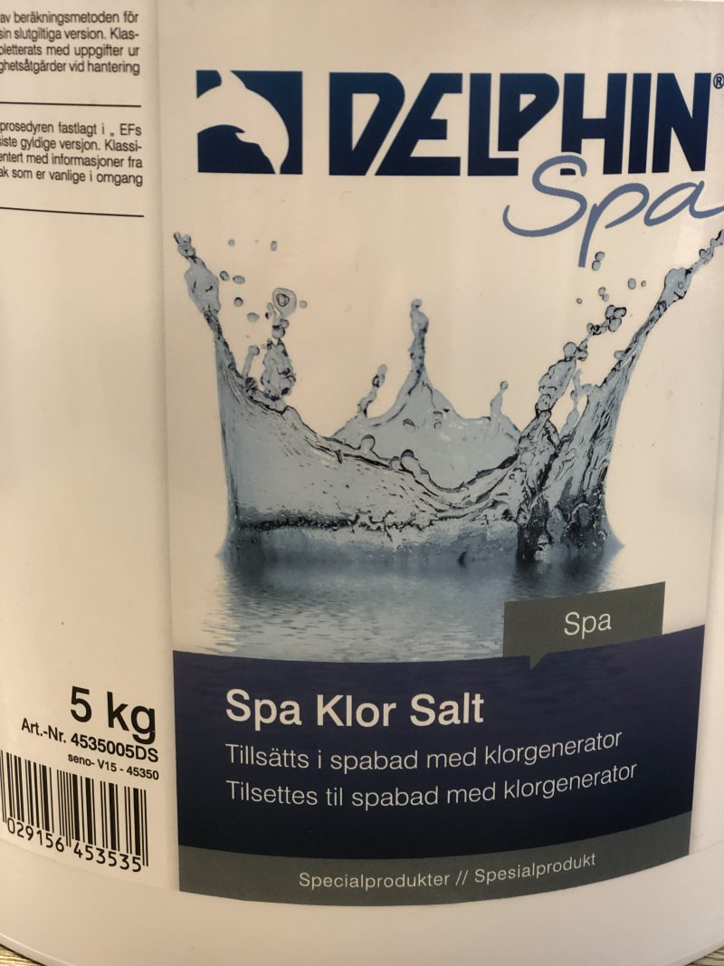 Delphin Spa Klor Salt